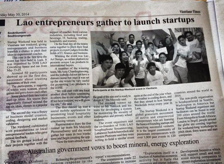 Startup Weekend 3